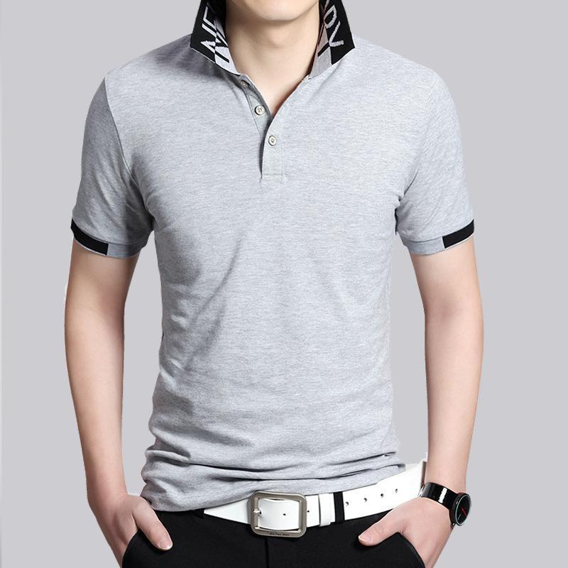 Лоскутное Мужчины поло Мода Polos Homme Slim Fit Короткие -Sleeve Камиза Рубашки поло Мужские S Summer Топы Тис Хлопок Normen