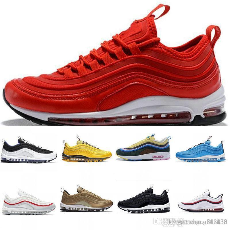 OG QS Laser Fuchsia Iridescent INVICTO Triplo branco Mens Running Shoes Preto Silver Bullet South Beach Homens Mulheres Sports Shoes