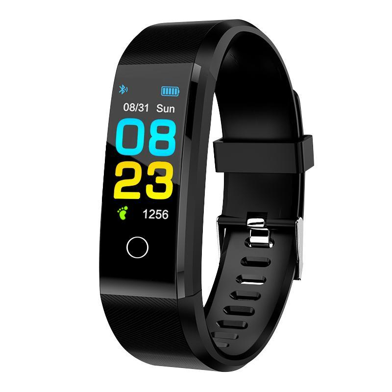 Nuove Smart Watch Orologio da uomo Donne Morsore cardiofrequenzimetro Blood Pressure Fitness Tracker Smartwatch Sport Orologio per iOS Android Braccialetto intelligente con scatola