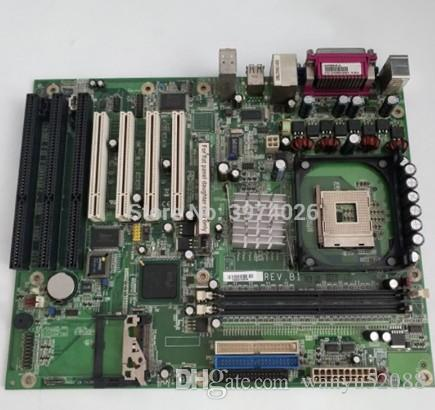 100% Tested Work Perfect for G4V620-B-G Industrial 845 ISA Motherboard Integrated Graphics 4 PCI slots 3 ISA slo