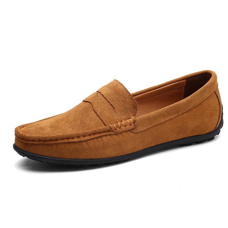 Neue heißen Verkauf-Art- und Mann-beiläufige gehende Schuhe Turnschuhe Neue Männer Fahren Klassische Peas Schuhe mit Kasten