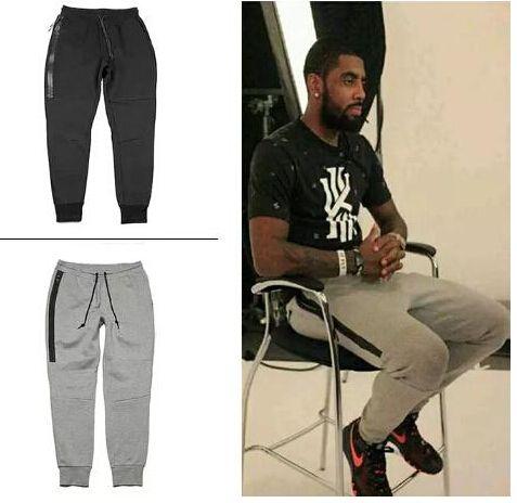 Pantalon noir gris chaud hommes Jogger Printemps Automne Casual Sport Slim Fit Pantalons longs Crayon Homme de basket-ball de formation des pantalons