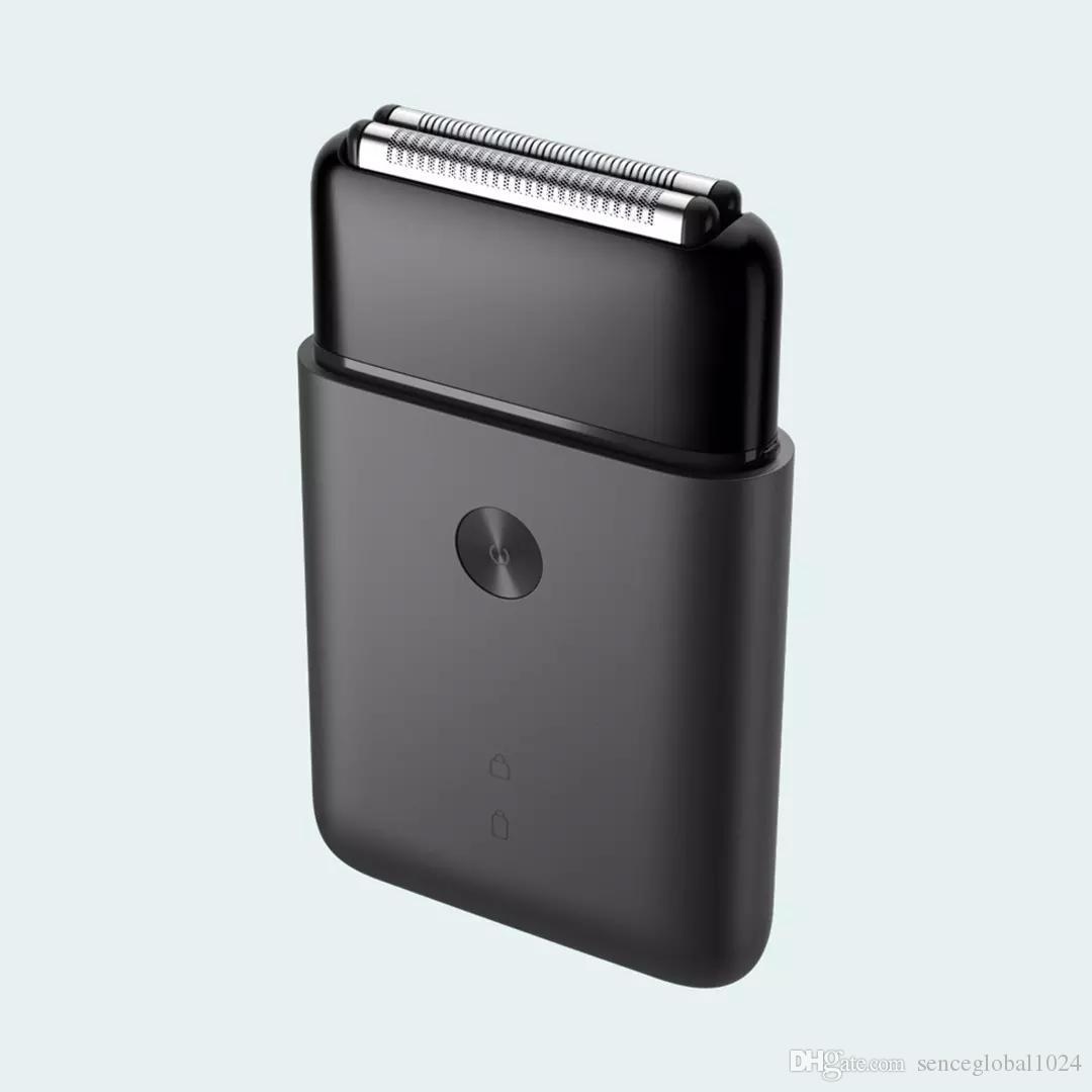 Xiaomi Mijia Mini Hombres portátiles de tipo C USB eléctrico maquinilla de afeitar del cuerpo del metal Japan Steel Cabeza de corte batería grande para la cara
