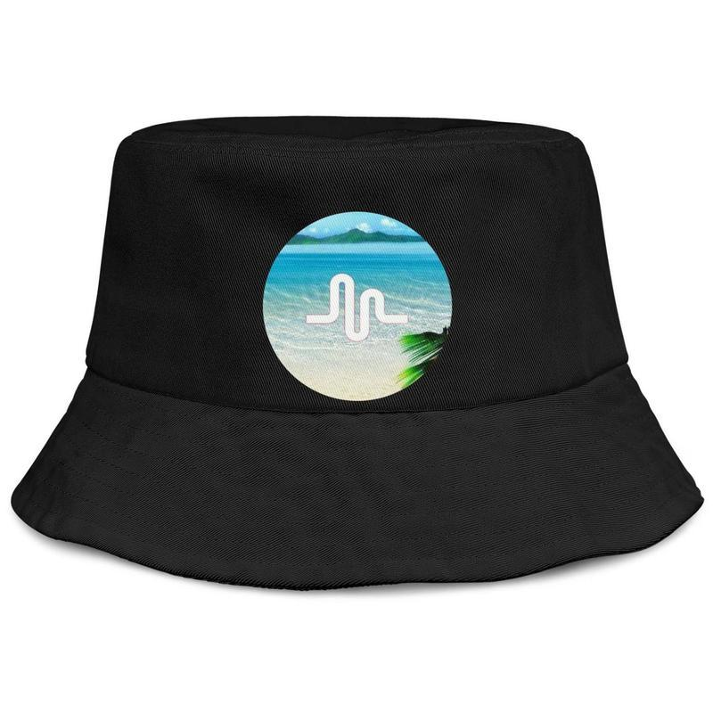 Музыкально мужские и женский buckethat пользовательской равнины ведра бейсболка Музыкально-Britpop-Addicted Музыкально Fan Hip Hop