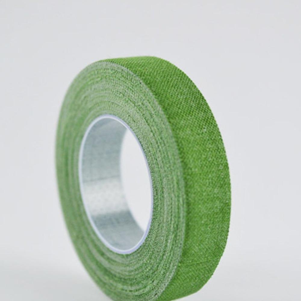 3color cinta Amarillo Verde Cítara de algodón especial auto-adhesivo de la cinta del clavo del dedo uso del dedo Selecciones pegatinas transpirable para no alérgicas