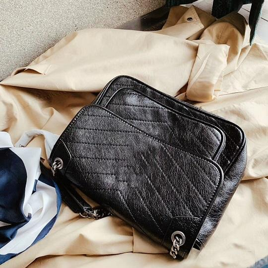 couro real de alta qualidade famoso designer de moda senhora ombro bolsa saco de Niki sacos bolsas femininas de venda quente de luxo custo de fábrica