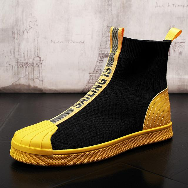 Мужская роскошь дизайнер Street законодателем сетки платье ботинки мужские хип-хоп панк обувь для Zapatillas Hombre Zapatillas Hombre