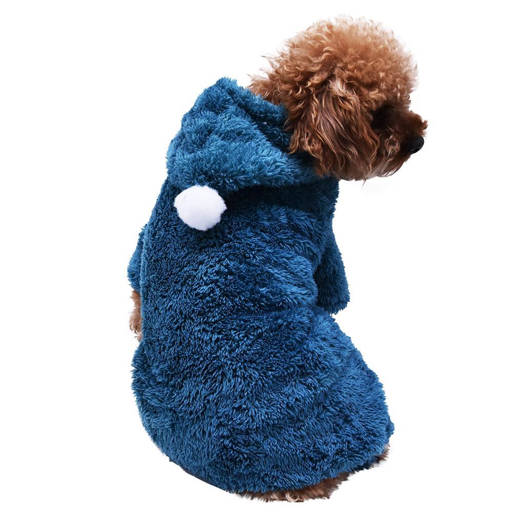 Oldukça Yeşil Haki Pembe Kırmızı Gri giysi dogcat Polar Köpek Coat Evcil Kedi Sıcak Giyim Ceket Sweatshirt Boyama Hayvan Köpek Gömlek