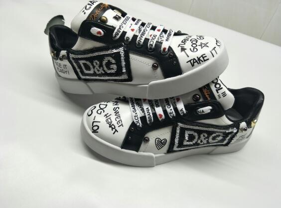 Beyaz Kadın Deri Ayakkabı Erkek Ve Kadın Ayakkabı Siyah Altın Kırmızı Moda Rahat Düz ayakkabı Boyut 35-46 0402