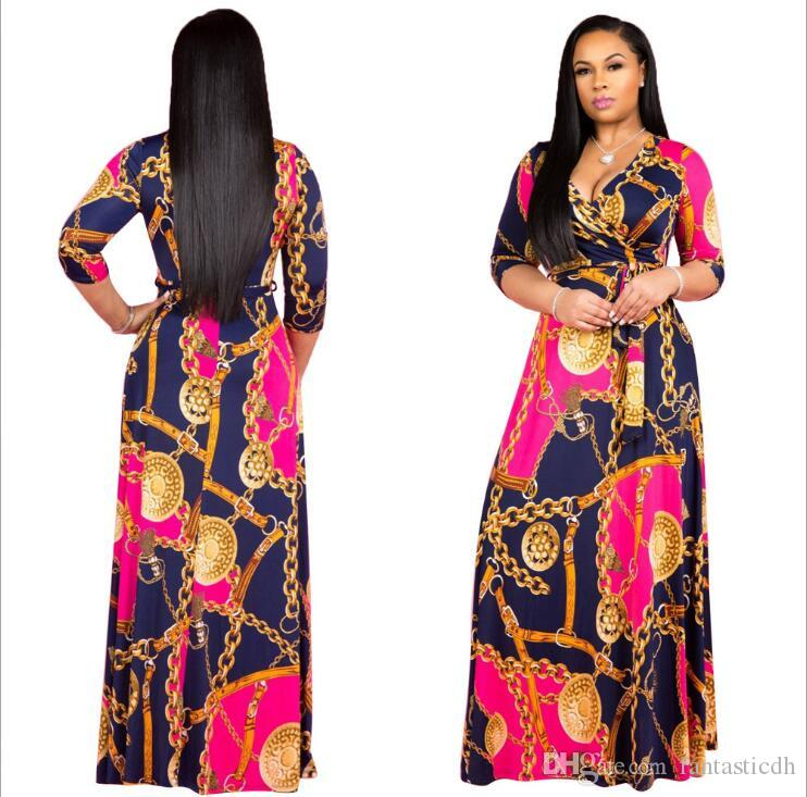 Hot Sale New Fashion Design Traditional African Clothing Print Dashiki Nice Neck African Dresses for Women