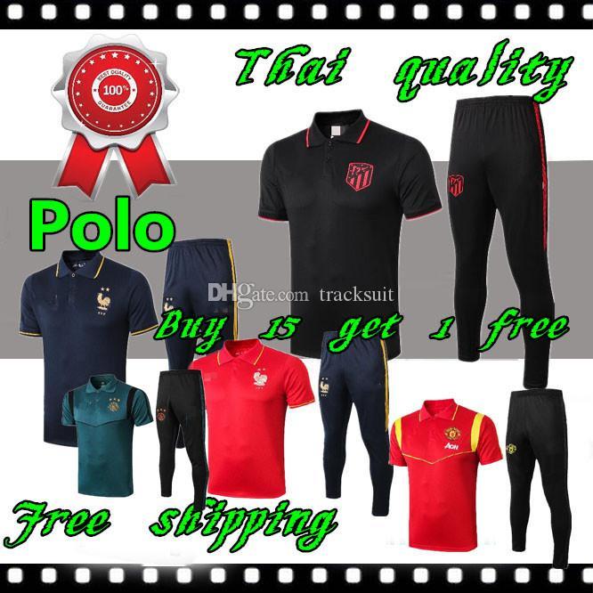 2019 de futebol 2020 camisa POLO camisa Ajax polo Soccer Jersey 19 20 maillot de pé RONALDO futebol POLO Camisola de Futebol