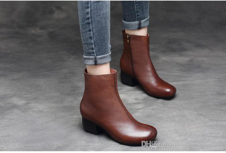 X1 nuevas botas de cuero para mujer Hombre Primavera Alta Top Tamaño grande 39-46 Moda Zapatos casuales Hombre ligero transpirable con cordones Botas personalidad salvaje sh