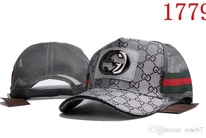 Nueva llegada marca de alta calidad para hombre diseñadores sombreros casquette de béisbol gorra papá sombrero Golf Sport Gorras hombres mujeres Snapback gorras