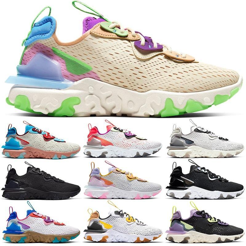 Erkekler Kadınlar Ayakkabı Erkek Eğitmenler Yüksek Kalite Desert Oasis Barely Volt Siyah yanardöner Erkek Spor Ayakkabı Sneakers Boyut 36-45 Running tepki