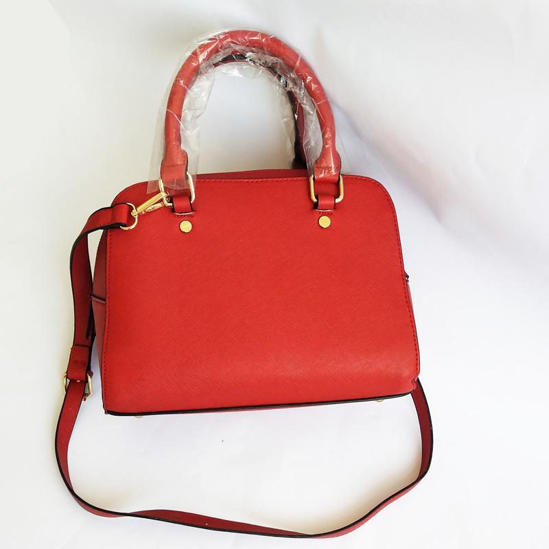Tasche Luxus Frau Shell Kette Frau Luxus Designer Schulter Geldbörse Messenger Handtasche Crossbody Designer Tasche Rot Womam AGQFX