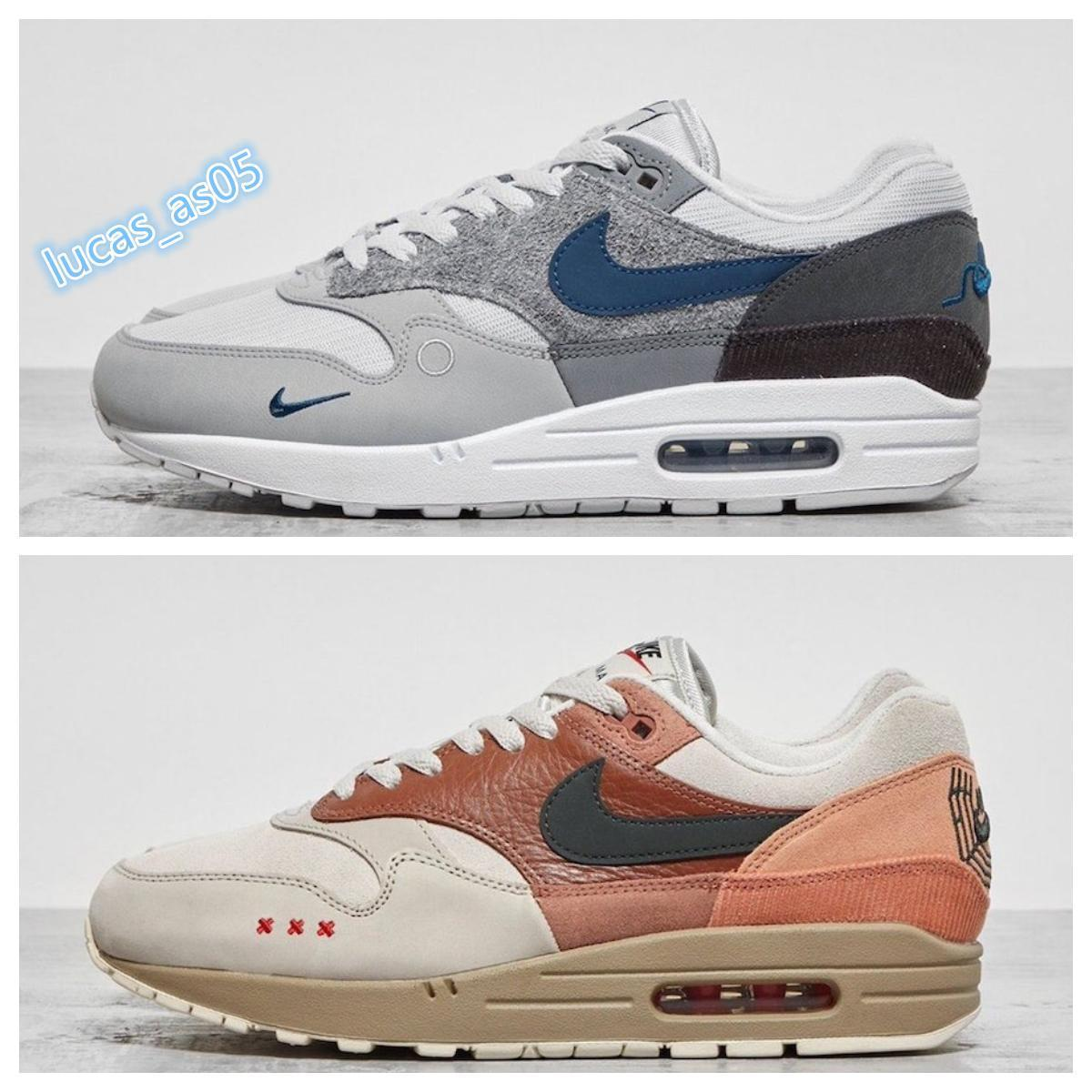 2020 NIKE AIR MAX 90 Atmos 1s 90s Shoes Trainers Atmos Animal Pack 3.0 Elephant Bred Print airmax 90 Reverse Duck Nike Air Max 1 City Pack Amsterdam airmax 1 London