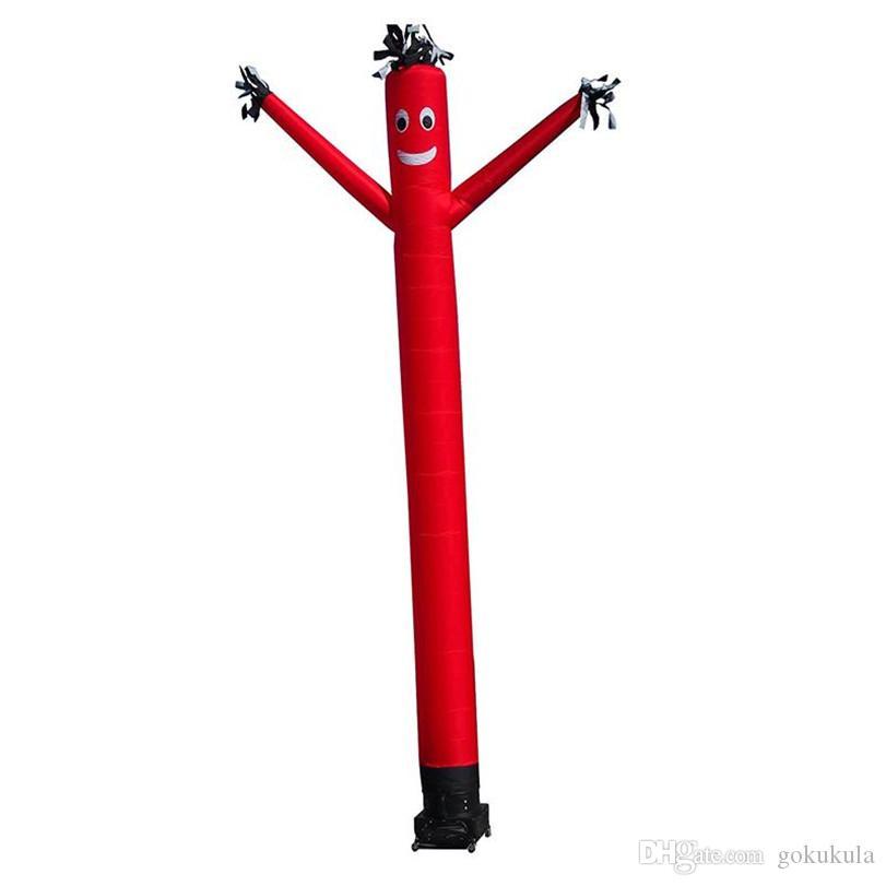 Inflável de onda único homem de perna de ar inflável Dançarinos de publicidade exterior da promoção do evento com impressão personalizada Base de Blower 0.33x3m