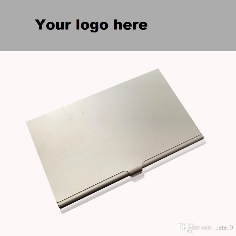 حامل البطاقة من السبائك ، حزمة رفيعة ، صندوق الأعمال ، البطاقة الشخصية ، حاملي بطاقات الائتمان