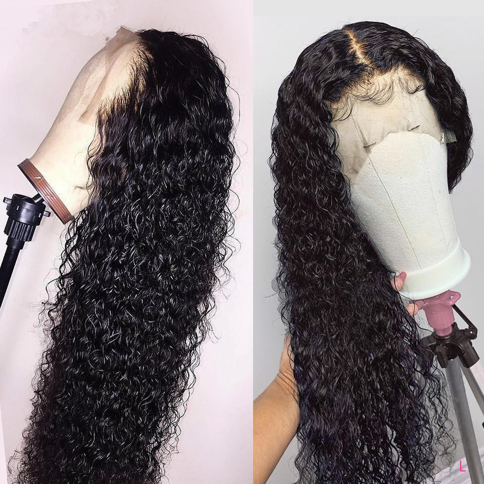 Brazilian Jerry Curl Wig Lace Front Wig Short Curly Lace Front Human Hair Wigs Pre Plucked Wigs For Black Women