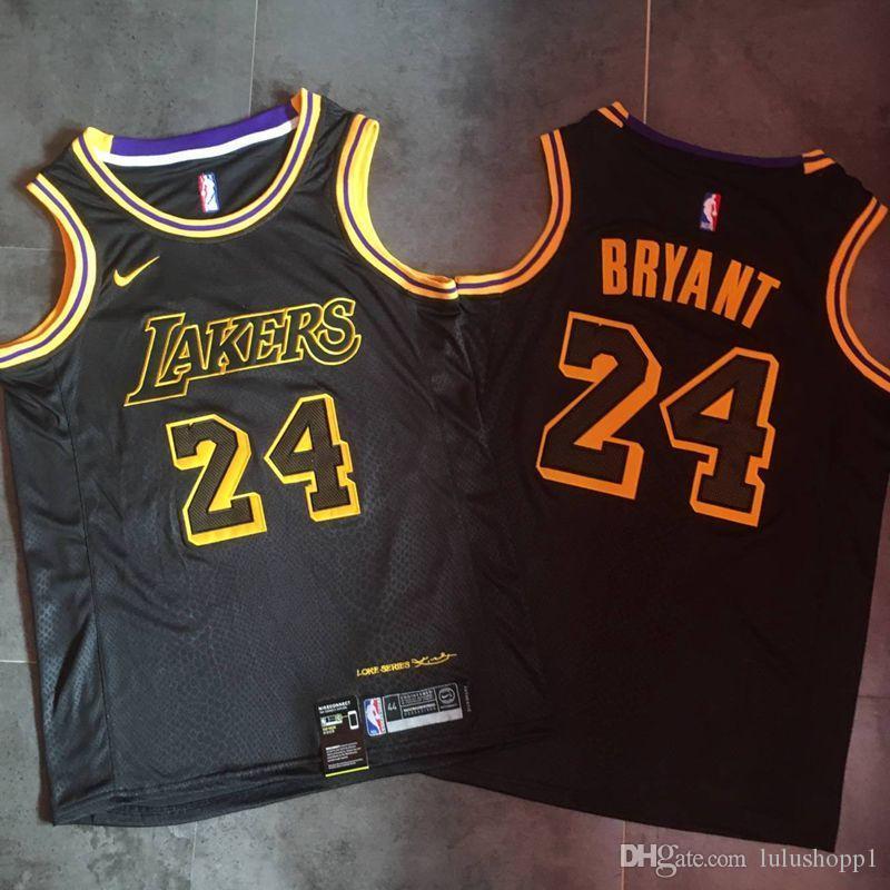 Best Mens KobeBryant Home NBAJersey High Quality Los ...