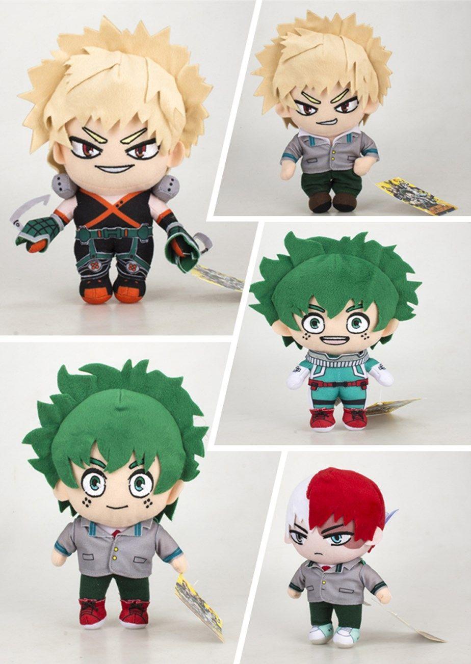 Limit Boku no My Hero Academia Midoriya Izuku Deku Plush Doll Toy 20cm Sa