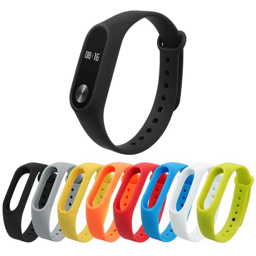 Bracelet en silicone pour Xiaomi mi Band 2 Bracelet pour Mi Band 2 Bracelet Bracelets Bracelet Dragonne pour Xiaomi Bracelet Smart Band2
