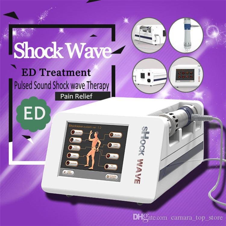 Date Thérapie par ondes de choc extracorporelle Thérapie par ondes de choc par ondes électromagnétiques pour le traitement de la douleur à l'épaule Soins de santé beauté Machine