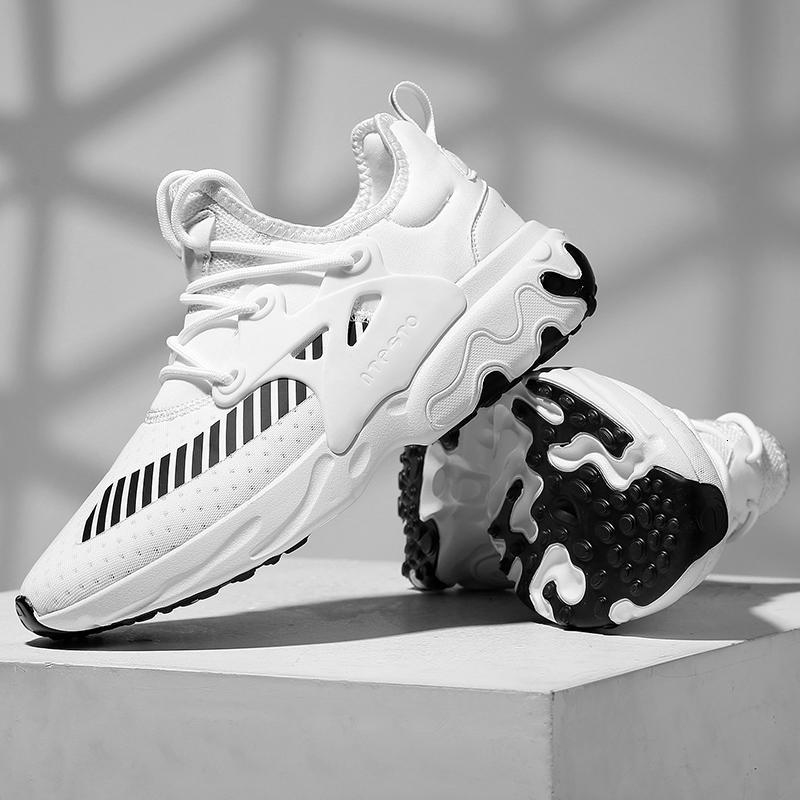 Scarpe uomo Casual Moda 2020 Maschio Sneakers Air Cushion traspirante Sport Running Shoes PU Mesh Tenis Masculino Adulto Uomini scarpe