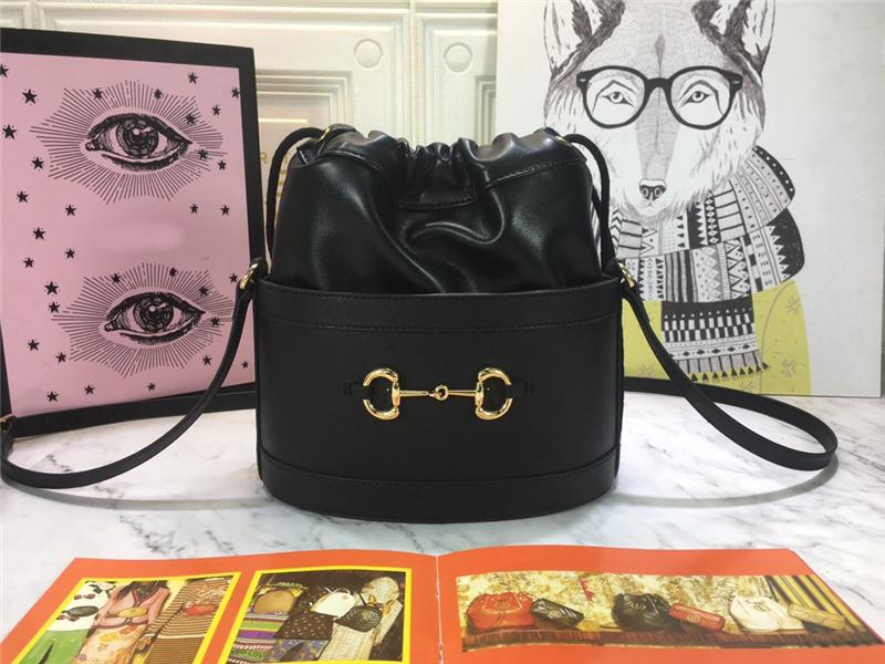 Schulter Designer Cowhide 2020 Neues Horsebit Noloh Crossbody Bags Tasche 1955 Luxus Echte Handtaschen Leder Eimer Geldbörsen Ankunft Messeng DDHC