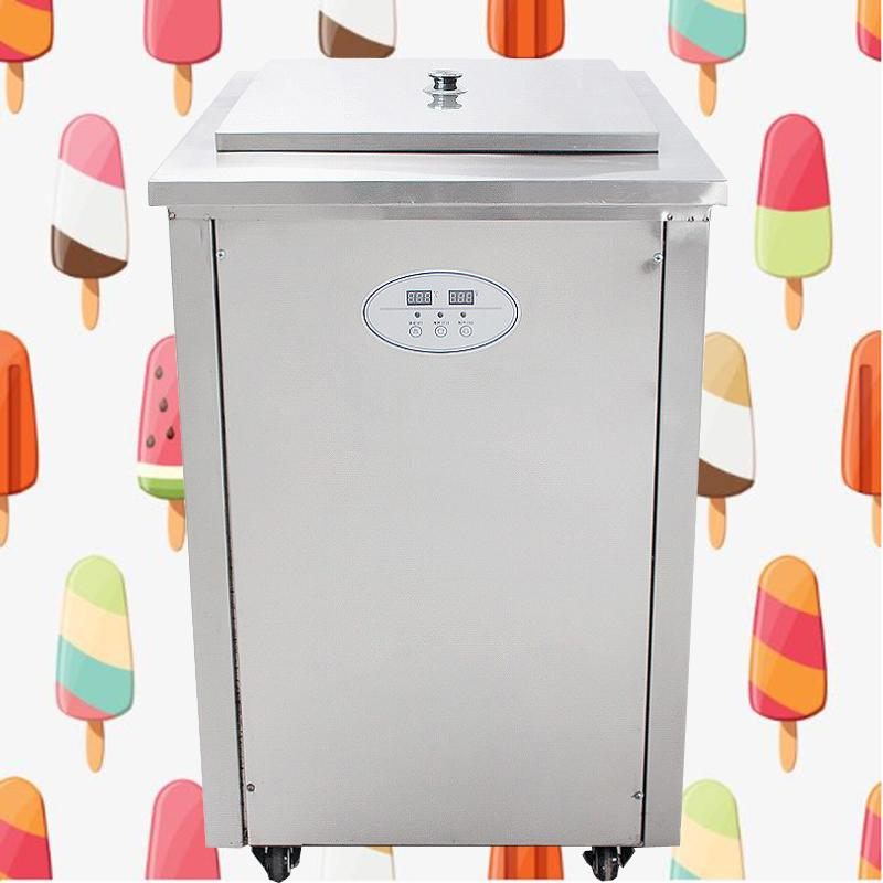 Commercial single mode popsicle machine popsicle machine electric popsicle machine and 40 pieces / sets of mold 220v free shipping