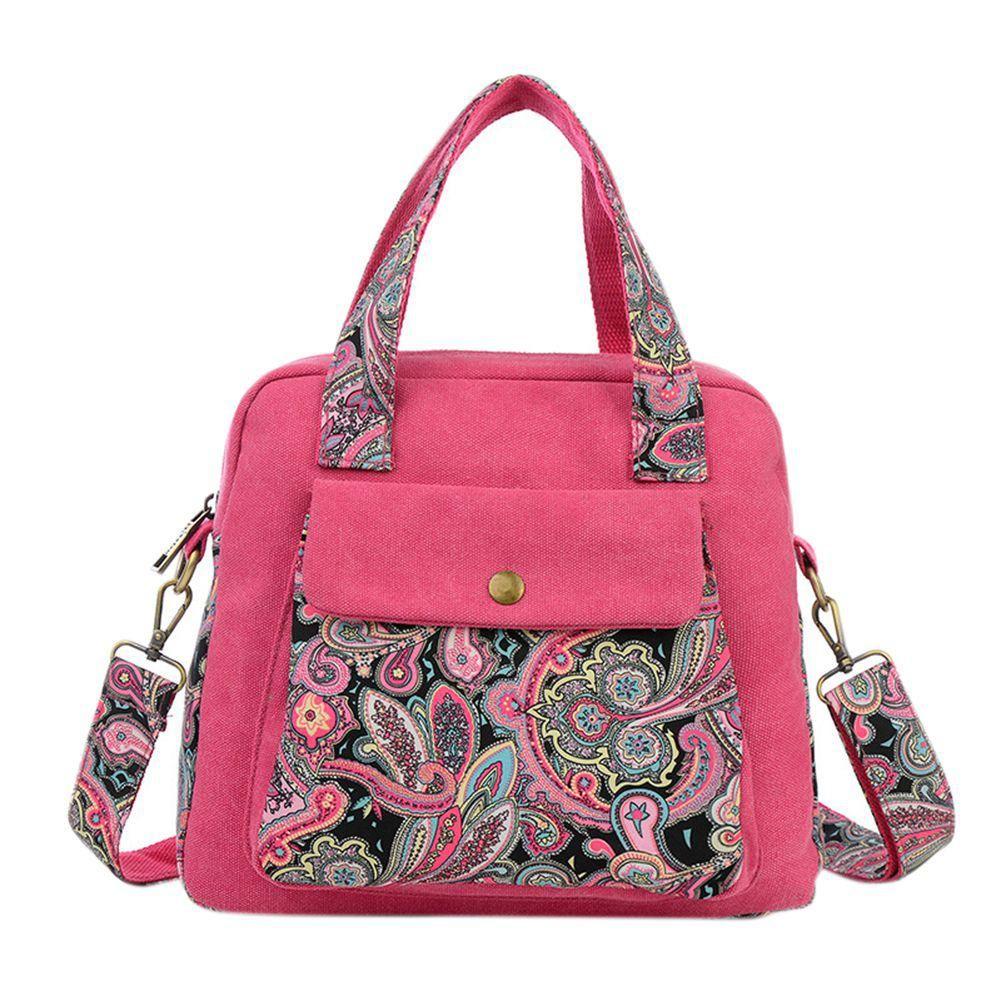 Woman Canvas Crossbody Bag Casual All-match Messenger Shoulder Bags Handbag Gifts