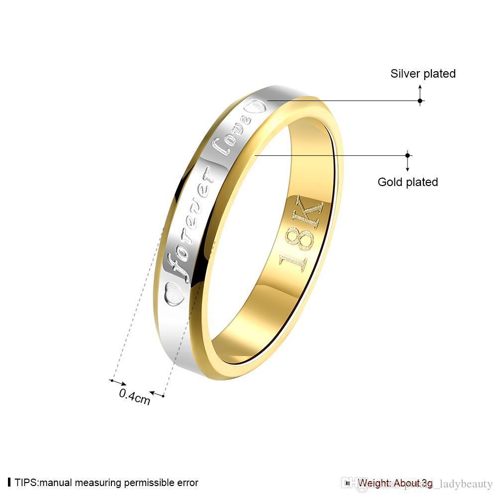 tt-1 Luxury Round Stainless Steel Engagement Rings Sets for Women Titanium Steel Crystal Gold Romantic Wedding Ring Jewelry