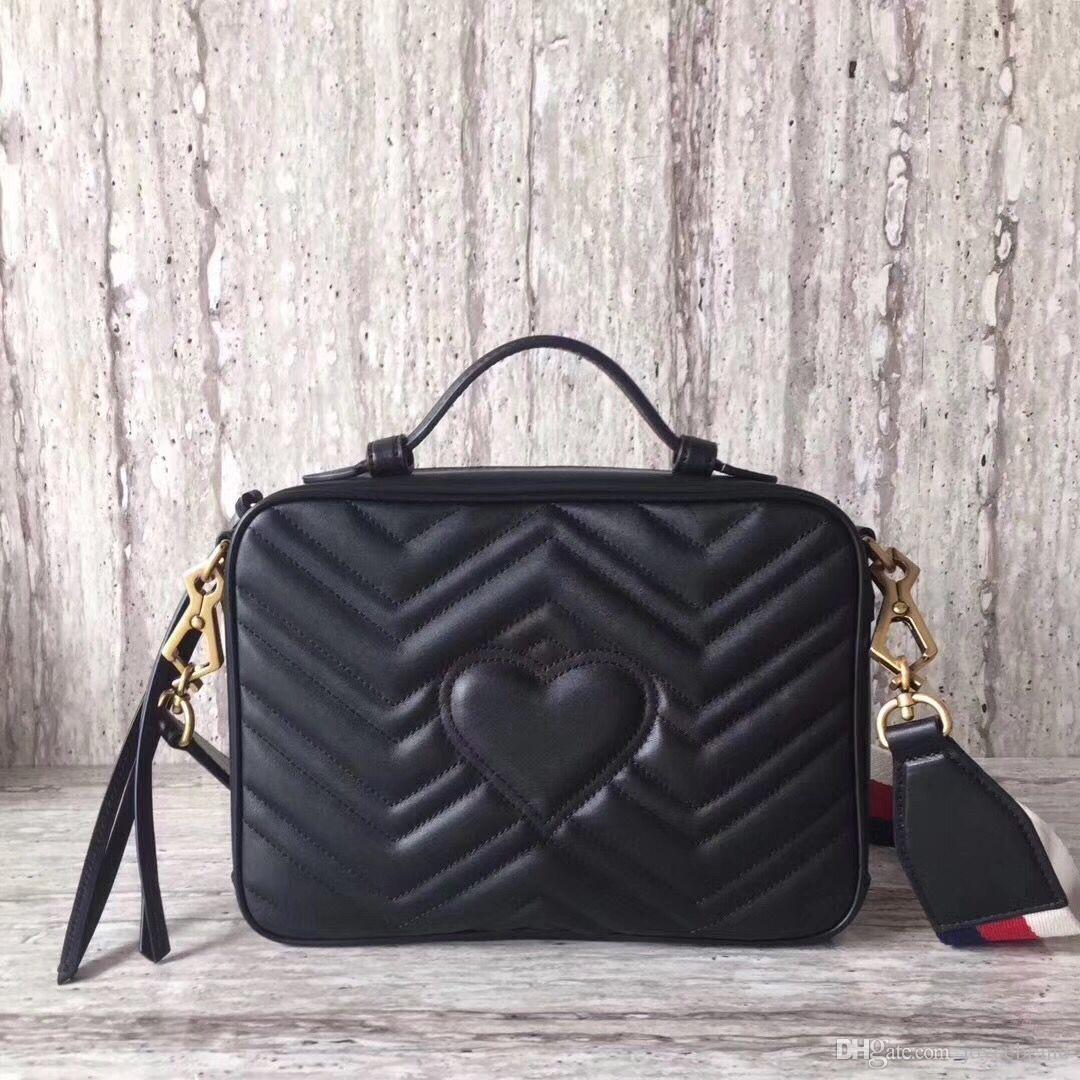 Marca Marmont stle Borse donna Borse messaggero Borsa a tracolla catena di moda femminile piccola borsa pacchetto con trasporto libero