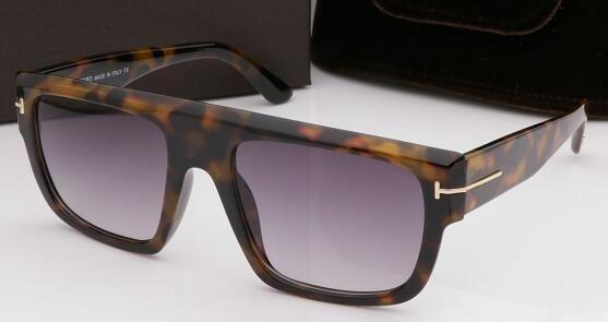 Luxe haut de gamme nouvelle mode 0699 Tom Lunettes de soleil pour homme femme Erika Lunettes ford Designer marque lunettes de soleil avec la boîte 666