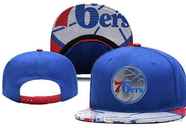 2019 Hats For Man Woman Snapbacks Baseball Hat snapback N Y Flat brim Cap strapback Embroidery Philadelphia Cap PHI 76 Tide Brand hat 05