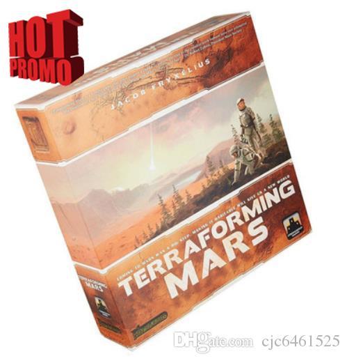 Terraforming Mars Over 200 Unique Project Cartes Jeu de société Jeu de cartes Jeu de construction coopérative de ponts Jeu entre amis et en famille