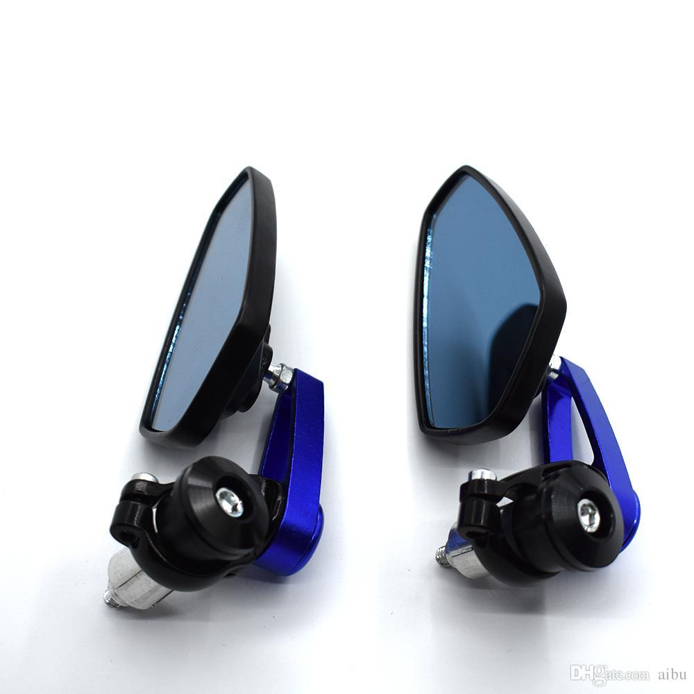 Pour rétroviseurs de moto de 7/8 '' Rétroviseurs latéraux de guidon CNC POUR KTM 1190 990 1290 AdventuRe / R SUZUKI GSR750 B-KING1300