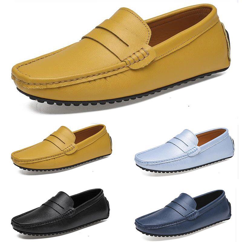 2021 hommes casual chaussures espadrilles Easy triple noir blanc blanc vin vin argent rouge châtaigne hommes baskets en plein air jogging walking couleur 39-46 cinquante deux