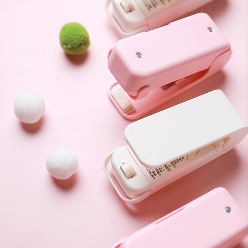 Portable Mini Sealer Home Heat Bag Plastic Food Snacks Bag Sealing Machine Food