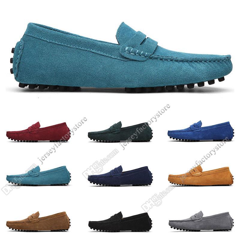 2020 grande taille 38-49 chaussures des nouveaux hommes en cuir pour hommes surchaussures chaussures britanniques occasionnels Envoi gratuit de cinquante-sept