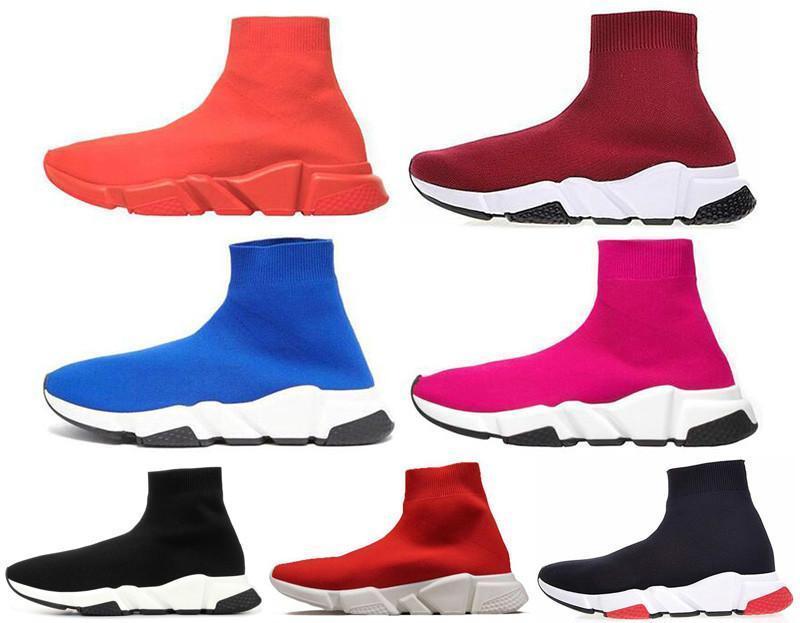 Новейшие моды обуви Speed Trainer недорогие кроссовки для мужчин рынка Speed Trainer Носок гонких бегунов чернокожей Чистка Zapatos Бесплатную доставку t1