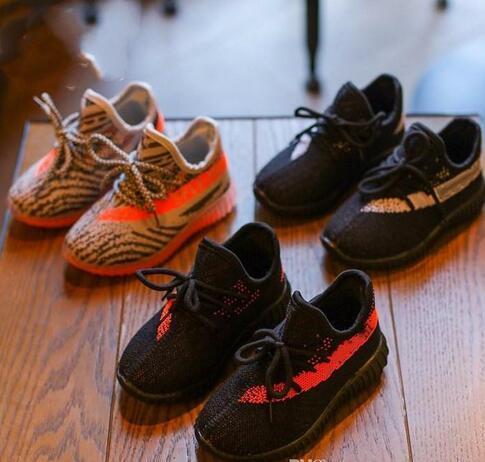 Kids Designer delle scarpe da tennis del bambino del bambino Formatori Run pattini infantili dei bambini delle ragazze dei ragazzi Chaussures pour enfants
