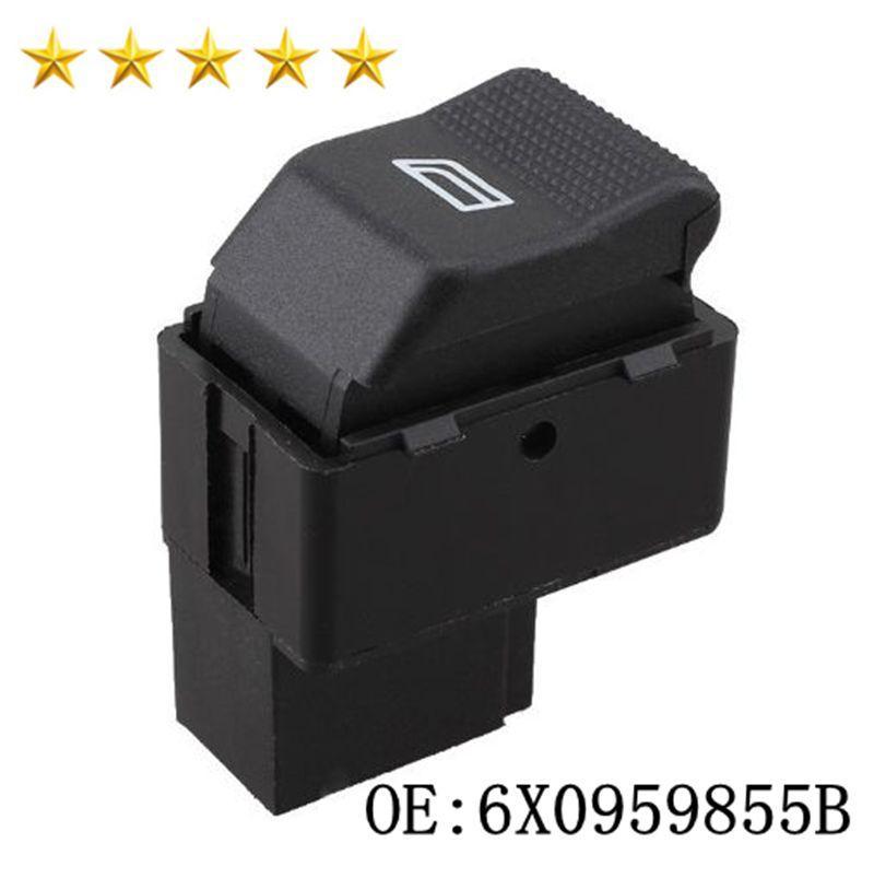 Autoelektrik Fensterheberschalter 6X0959855B für P O LO H A TCHBACK 6N2 LUPO 6X1 6E1 6X0 959 855B Fensterheber-Schalter High Quality