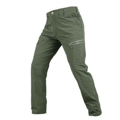 Uomo Primavera Estate Tactical Abbigliamento Cargo pantaloni solidi Pantaloni Zipper pantaloni militari Maschio Pantaloni i pantaloni adatti dei