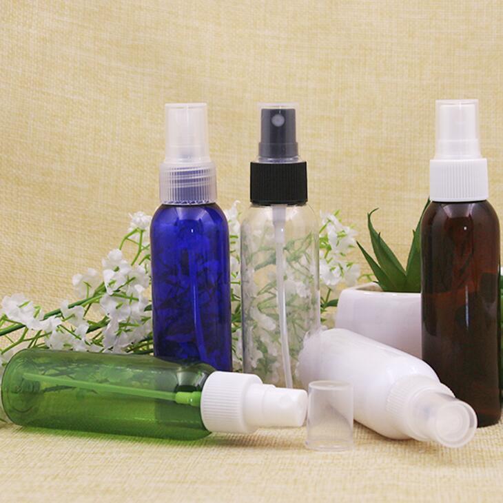 60 ml transparente vacíos botella de spray de plástico Botellas de perfume fina niebla de agua recipiente adecuado para llevar a cabo LX2118 ambientador