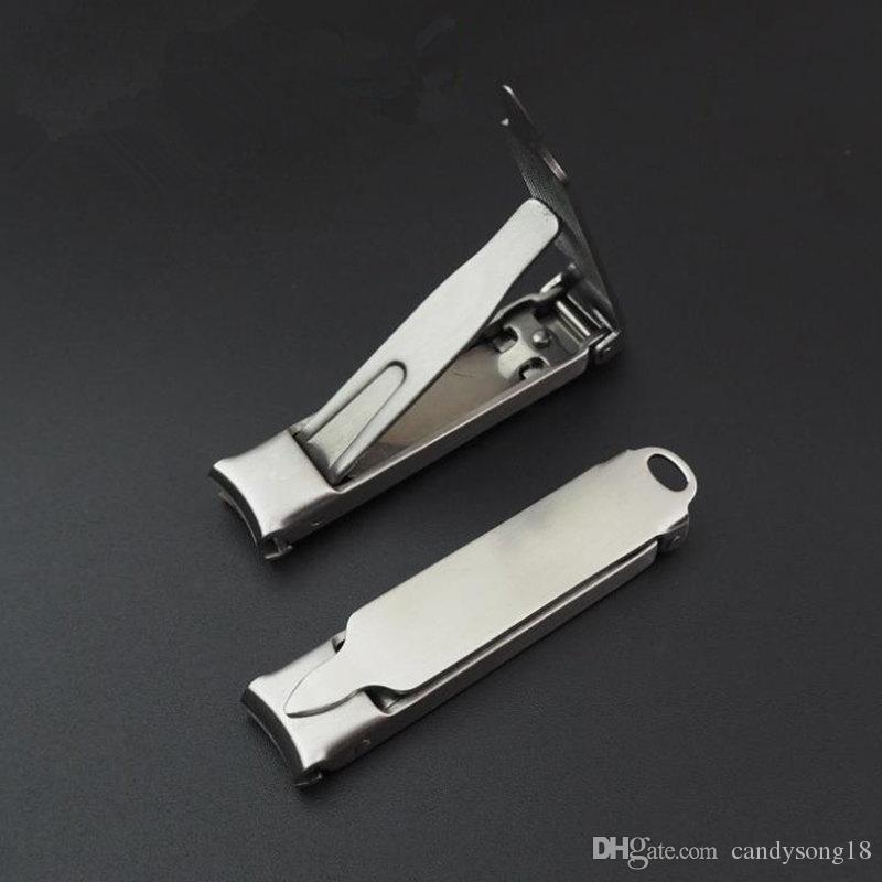 Nail Clipper in acciaio inox con Nile File Manicure Pedicure Strumento Toenail Cutter Mini Trimmer Clippers F3712