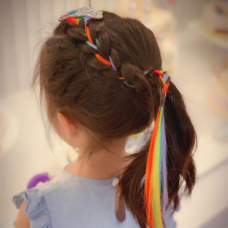 60pcs / lot peruca Braid grampo de cabelo do bebê Estrelas Grampos Hair Styling Acessórios HA1101