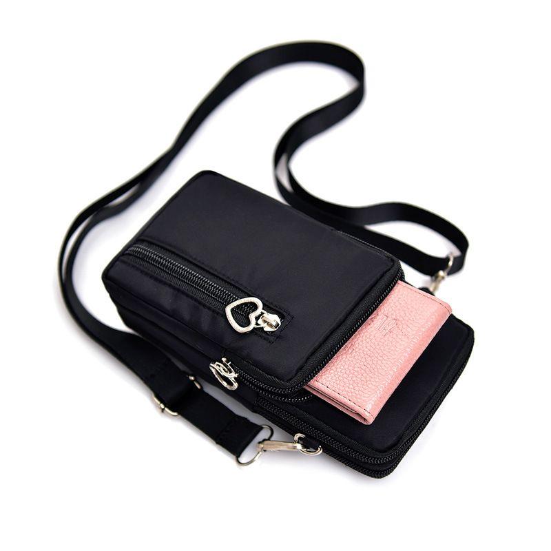 Pack Wrist Cell Phone Coin Sport Unique Design Pouch Shoulder Bag Purse Wallet