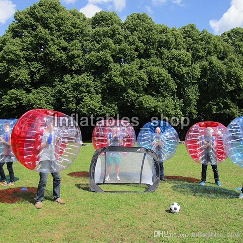 Ücretsiz Kargo Şişme Insan Hamster Topu çocuklar Için Kabarcık Futbol Topu Zorb Balon Tampon Topu