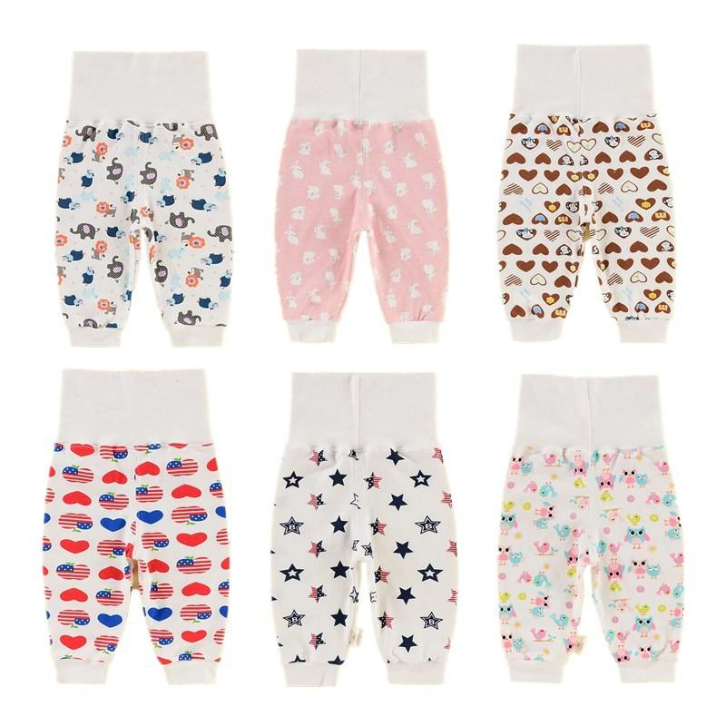 Baby On Board Foot Prints Unisex 2-6T Autumn Winter Cotton Fashion Trousers Child